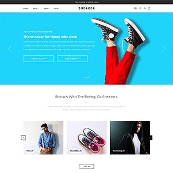 Shopify Sneaker Theme