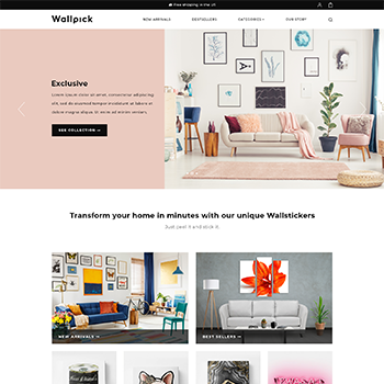 Shopify Wallpick Theme